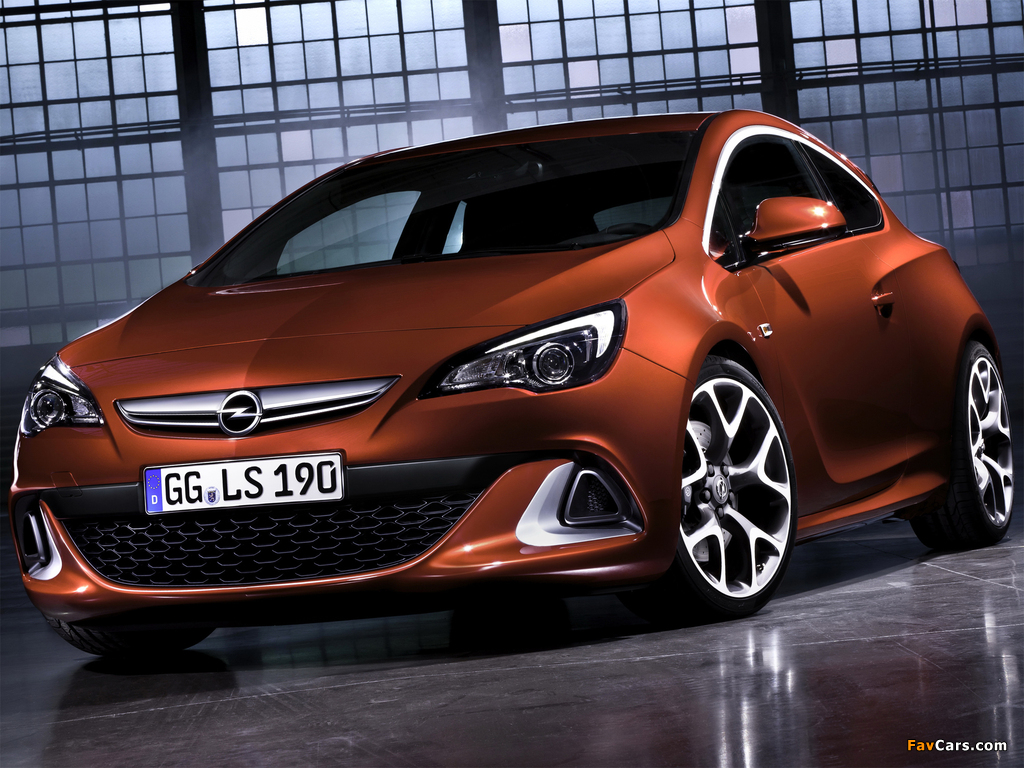 Opel Astra OPC (J) 2011 images (1024 x 768)