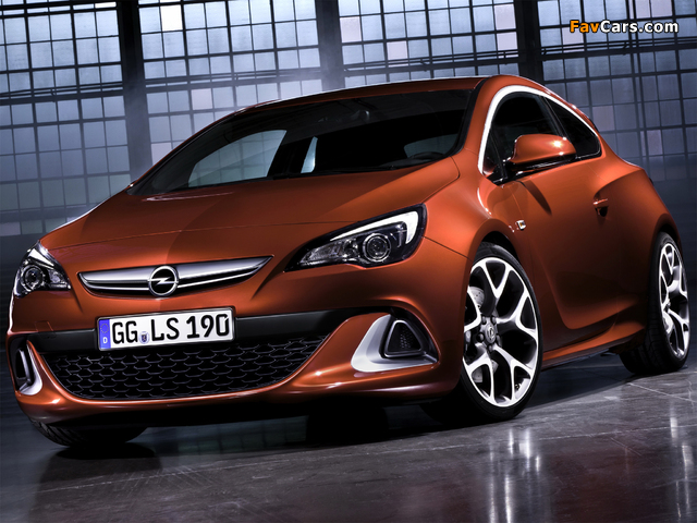 Opel Astra OPC (J) 2011 images (640 x 480)