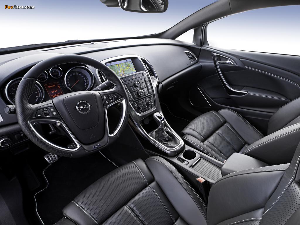 Opel Astra OPC (J) 2011 photos (1024 x 768)