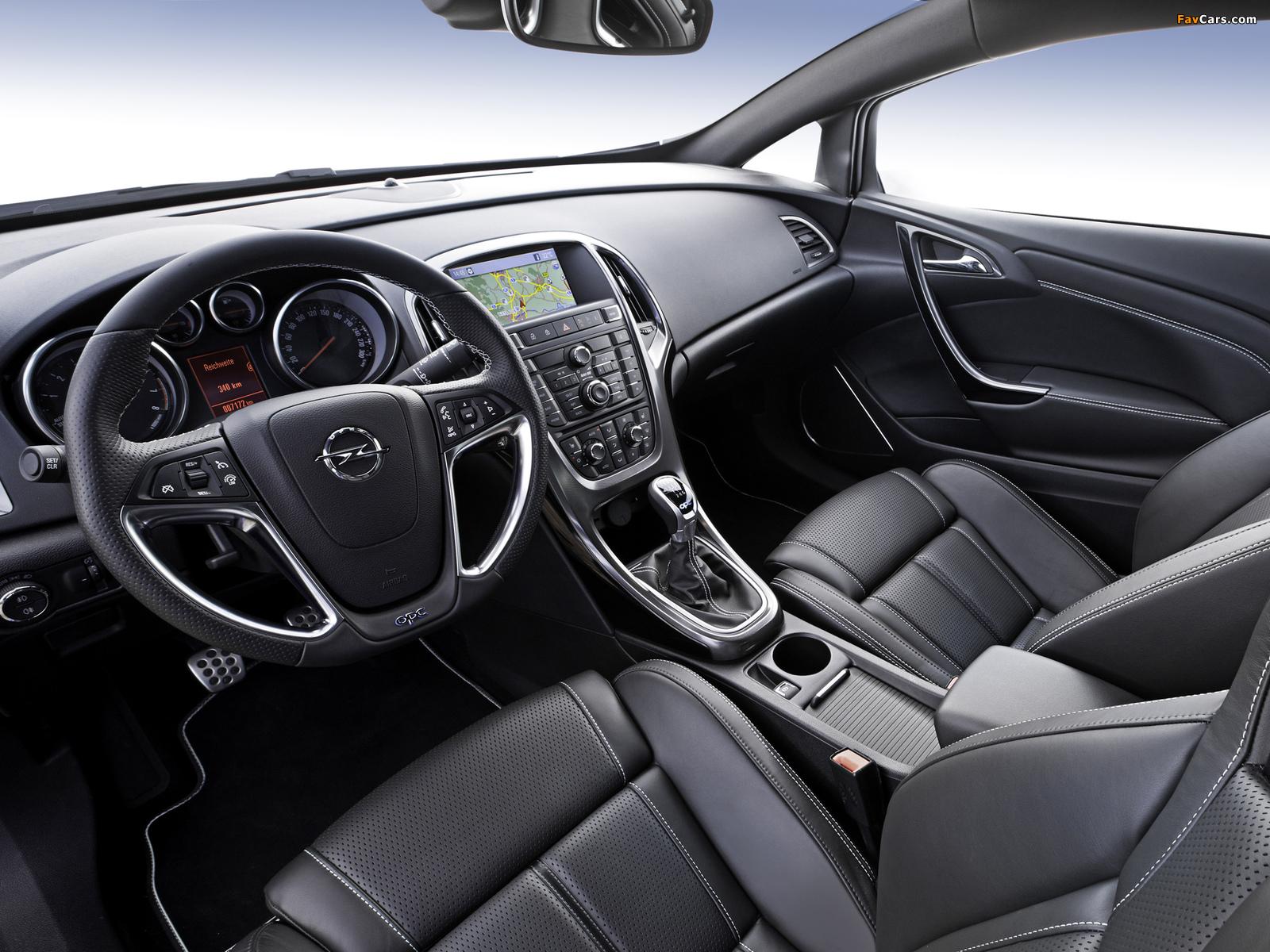Opel Astra OPC (J) 2011 photos (1600 x 1200)