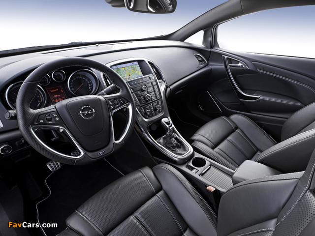 Opel Astra OPC (J) 2011 photos (640 x 480)