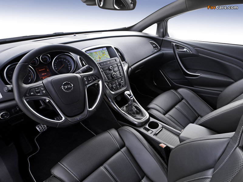 Opel Astra OPC (J) 2011 photos (800 x 600)