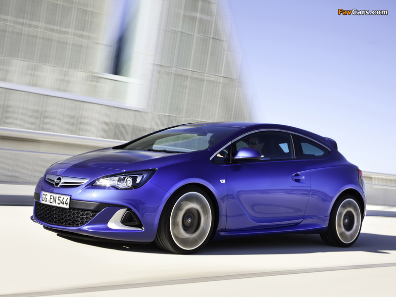 Opel Astra OPC (J) 2011 wallpapers (800 x 600)