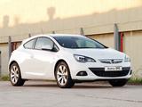Opel Astra GTC ZA-spec (J) 2012 images