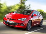 Opel Astra GSI BiTurbo Panoramic (J) 2012 images