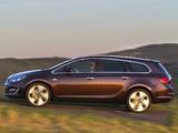 Opel Astra Sports Tourer (J) 2012 images