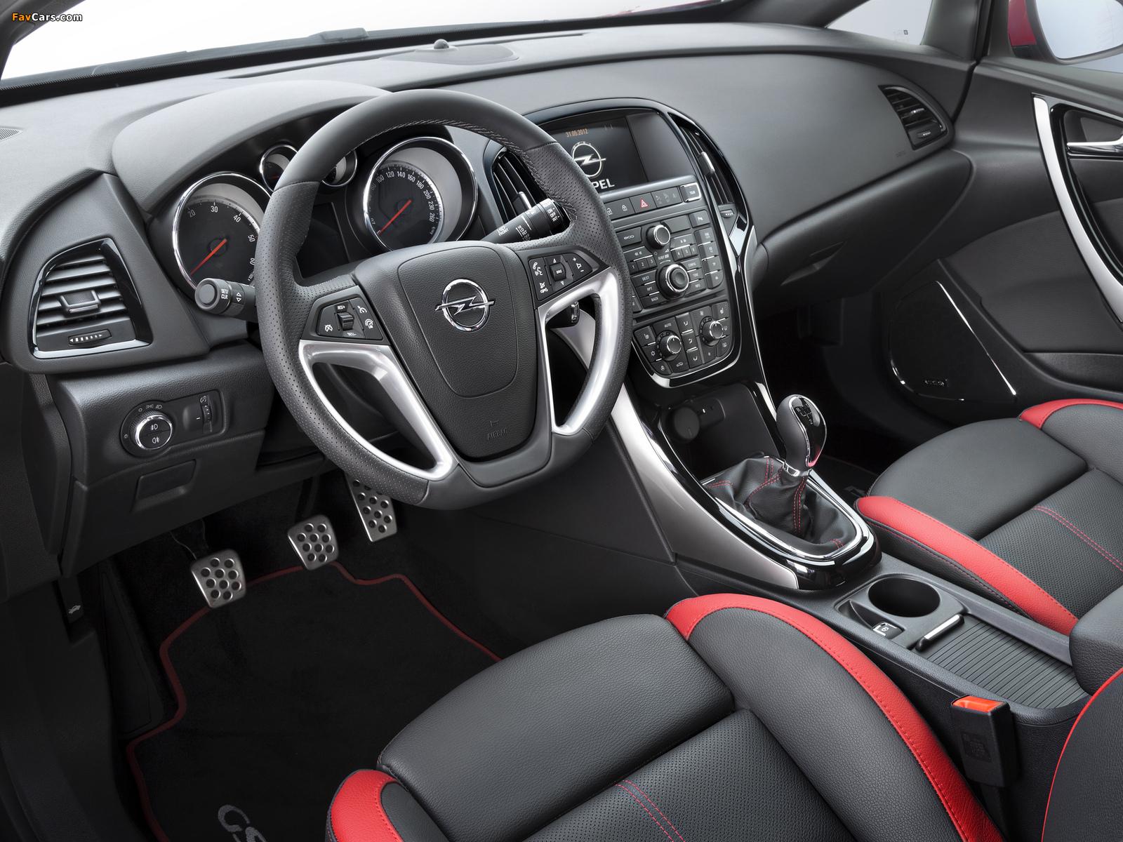 Opel Astra GSI BiTurbo Panoramic (J) 2012 images (1600 x 1200)