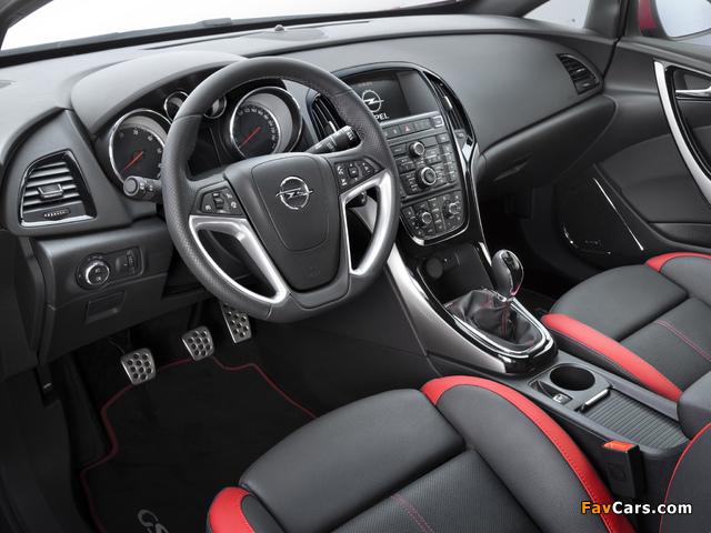 Opel Astra GSI BiTurbo Panoramic (J) 2012 images (640 x 480)