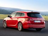 Opel Astra BiTurbo Sports Tourer (J) 2012 images