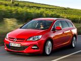 Opel Astra BiTurbo Sports Tourer (J) 2012 photos