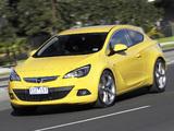 Opel Astra GTC AU-spec (J) 2012–13 photos