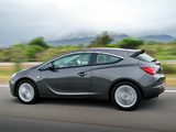 Opel Astra GTC ZA-spec (J) 2012 pictures