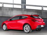 Opel Astra GTC AU-spec (J) 2012–13 pictures