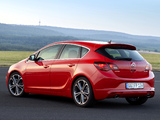 Opel Astra BiTurbo (J) 2012 pictures