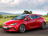 Opel Astra GSI BiTurbo Panoramic (J) 2012 pictures