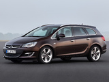 Opel Astra Sports Tourer (J) 2012 pictures