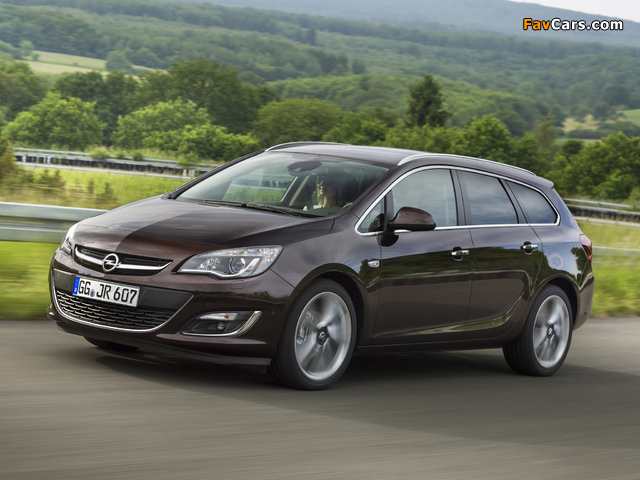 Opel Astra Sports Tourer (J) 2012 pictures (640 x 480)