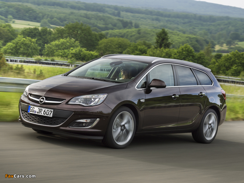 Opel Astra Sports Tourer (J) 2012 pictures (800 x 600)