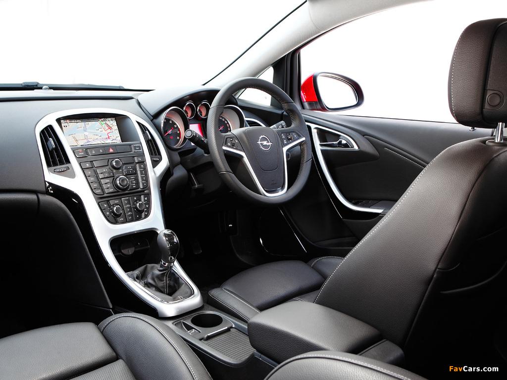 Opel Astra AU-spec (J) 2012–13 wallpapers (1024 x 768)