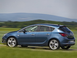 Opel Astra (J) 2012 wallpapers