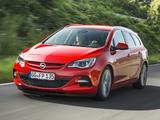Opel Astra BiTurbo Sports Tourer (J) 2012 wallpapers