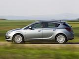 Opel Astra ecoFLEX (J) 2013 images