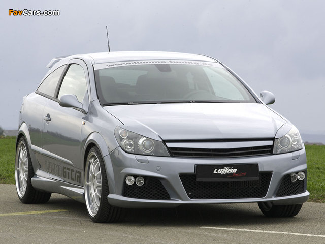 Lumma Design Opel Astra GTC (H) images (640 x 480)