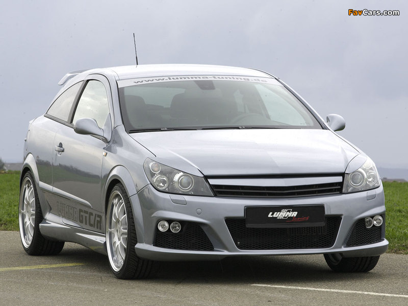 Lumma Design Opel Astra GTC (H) images (800 x 600)