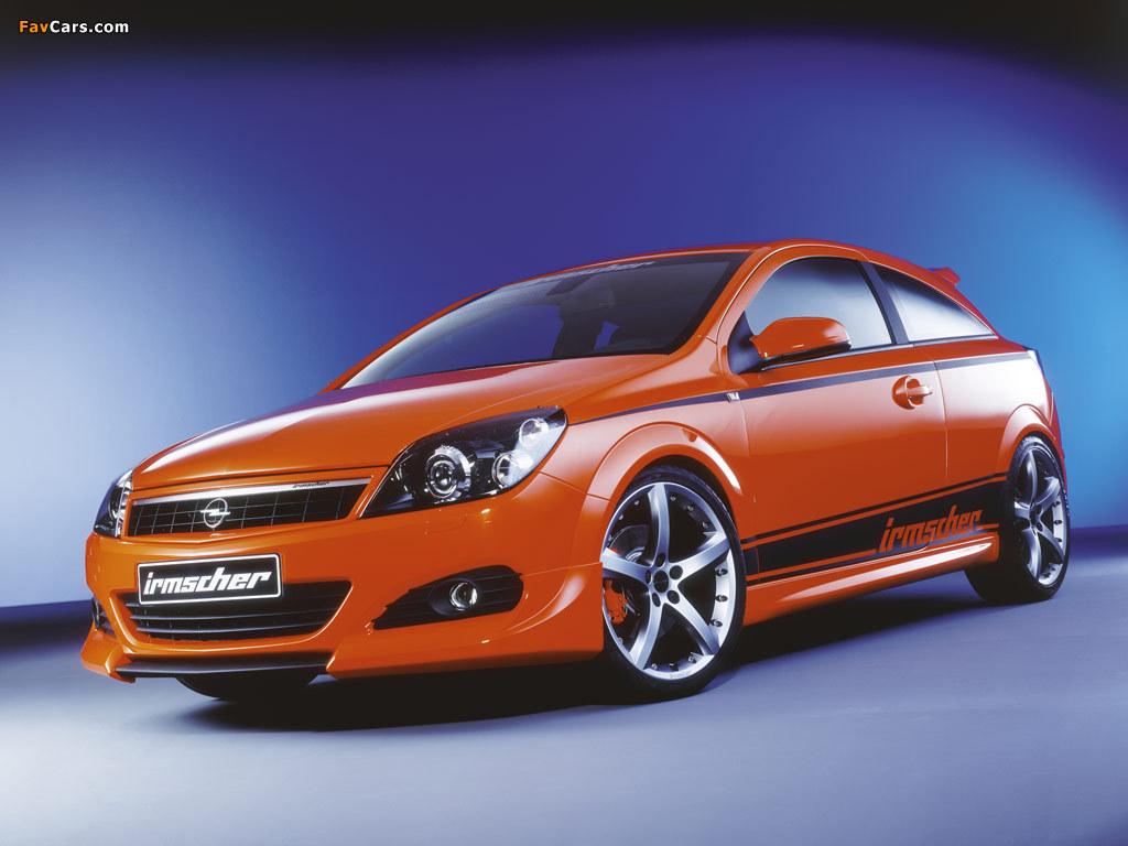 Irmscher Opel Astra GTC Sondermodell (H) pictures (1024 x 768)
