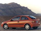 Photos of Opel Astra 3-door (G) 1998–2004