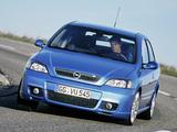 Photos of Opel Astra OPC (G) 2002–04