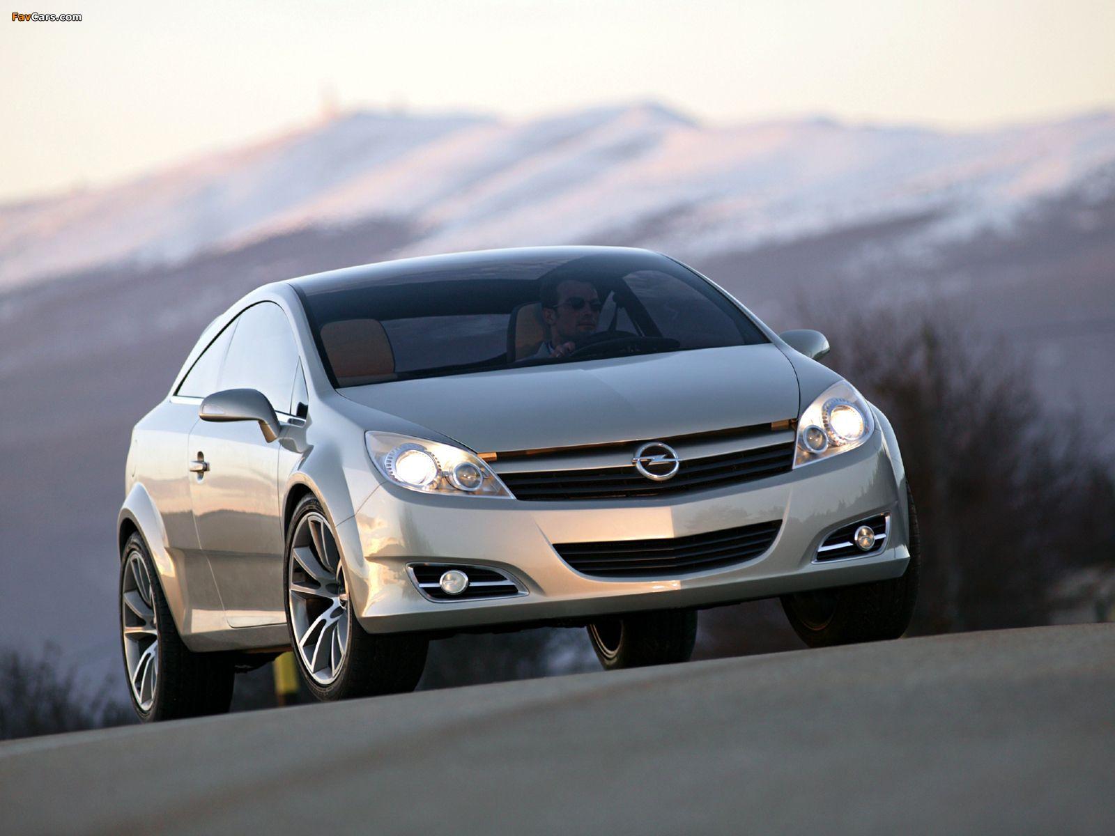 Photos of Opel GTC Concept 2003 (1600 x 1200)