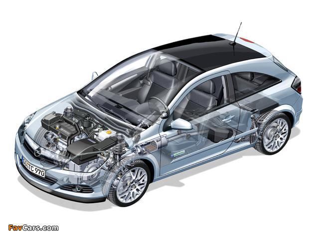 Photos of Opel Astra GTC Hybrid Concept (H) 2005 (640 x 480)