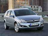 Photos of Opel Astra Caravan (H) 2007