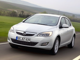 Photos of Opel Astra ecoFLEX 5-door (J) 2009