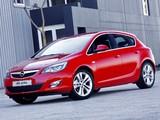 Photos of Opel Astra 5-door ZA-spec (J) 2010