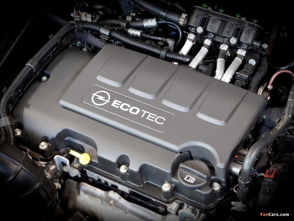 Photos of Opel Astra ecoFLEX Sports Tourer (J) 2010–12 (1024 x 768)