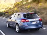 Photos of Opel Astra Sports Tourer (J) 2010–12