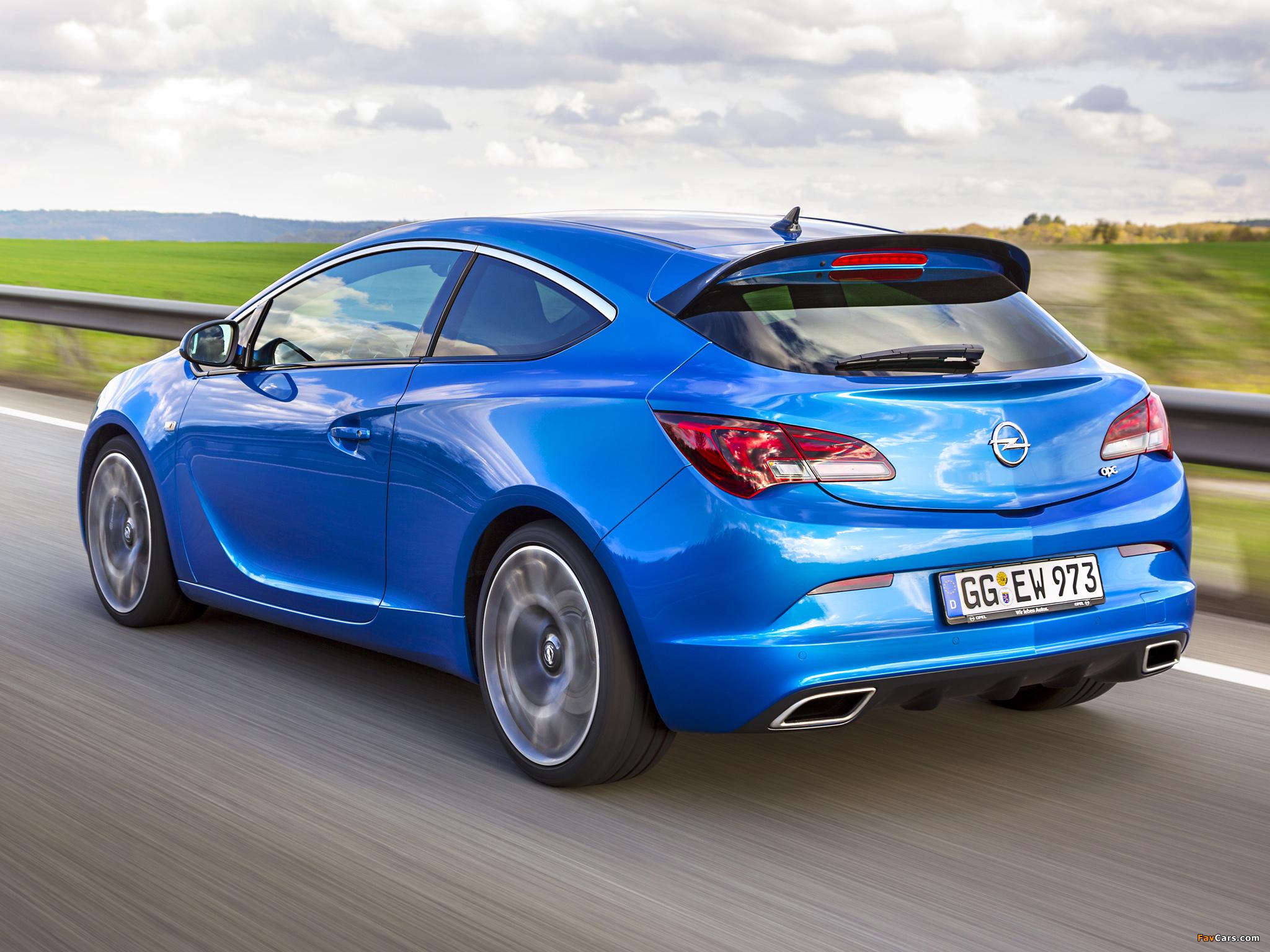Photos of Opel Astra OPC (J) 2011 (2048 x 1536)