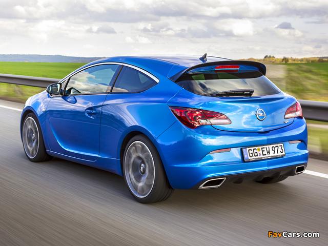 Photos of Opel Astra OPC (J) 2011 (640 x 480)