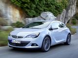 Photos of Opel Astra GTC (J) 2011