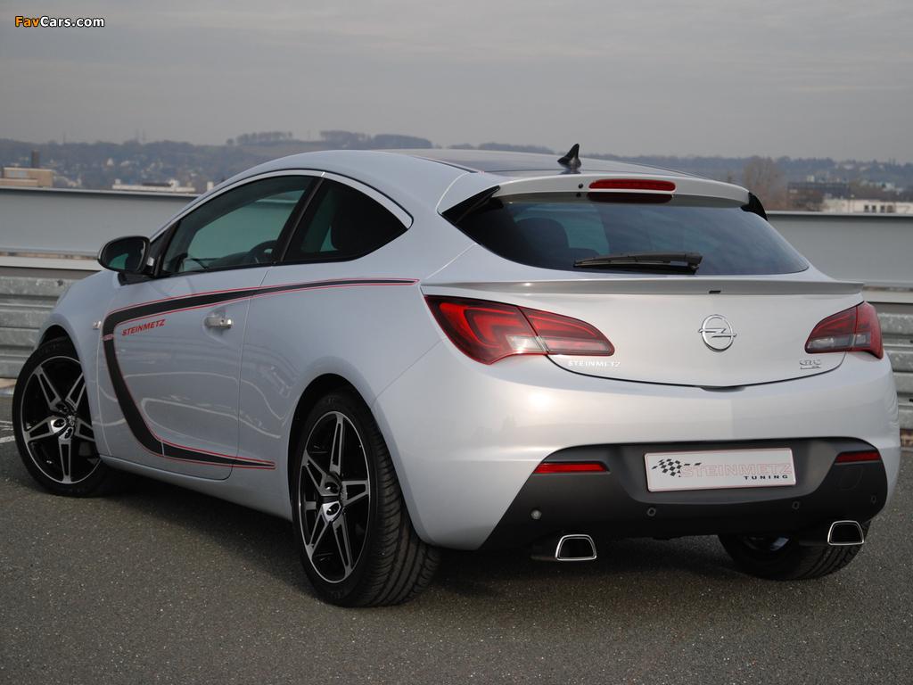 Photos of Steinmetz Opel Astra GTC (J) 2011 (1024 x 768)