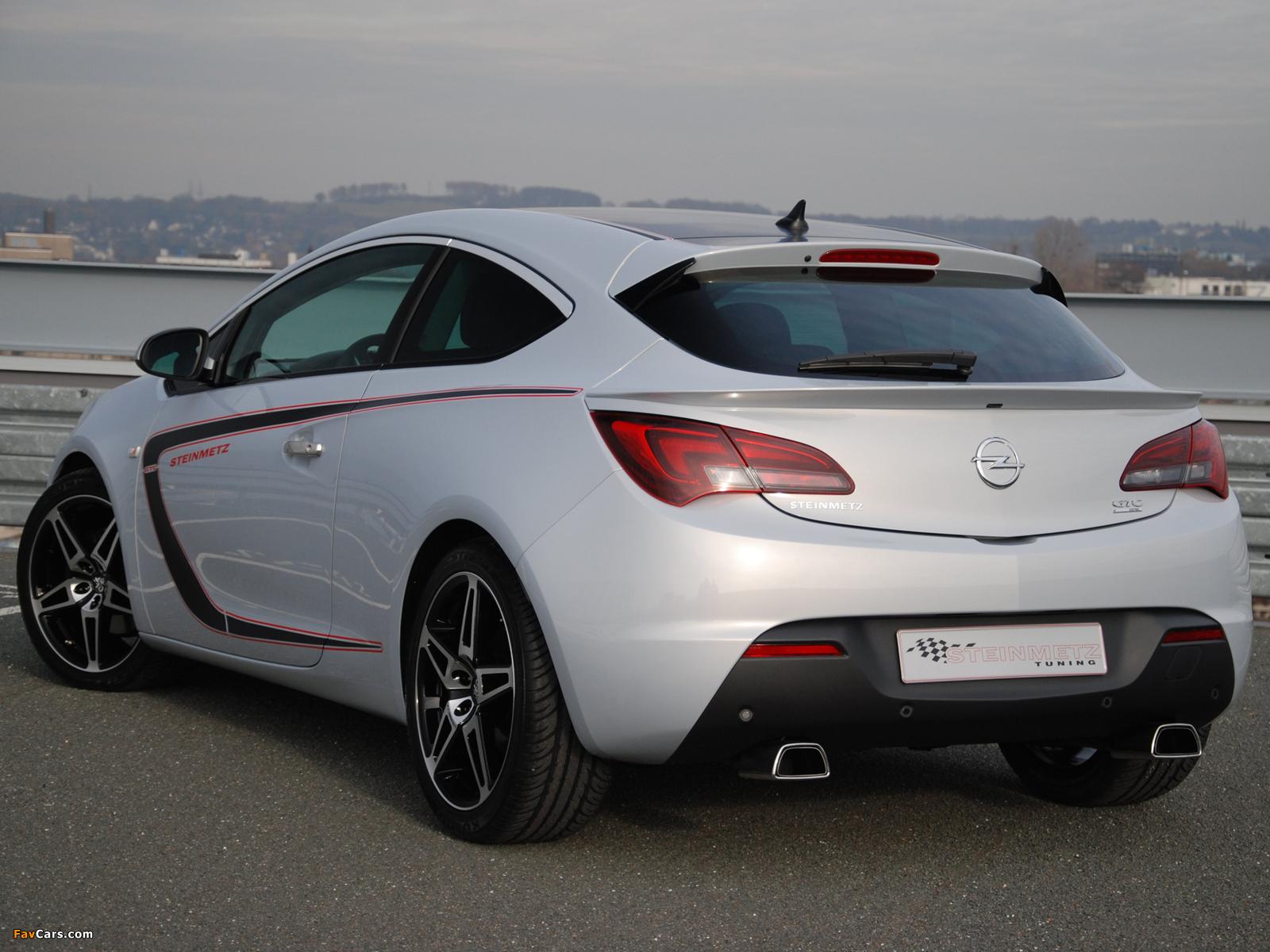 Photos of Steinmetz Opel Astra GTC (J) 2011 (1600 x 1200)