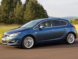 Photos of Opel Astra (J) 2012