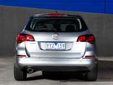 Photos of Opel Astra Sports Tourer AU-spec (J) 2012–13