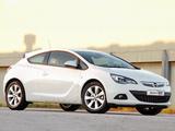 Photos of Opel Astra GTC ZA-spec (J) 2012