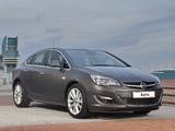 Photos of Opel Astra Sedan ZA-spec (J) 2013