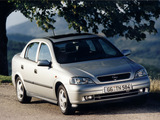 Pictures of Opel Astra Sedan (G) 1998–2004
