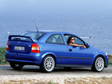 Pictures of Opel Astra OPC (G) 1999–2001