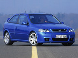 Pictures of Opel Astra OPC (G) 2002–04